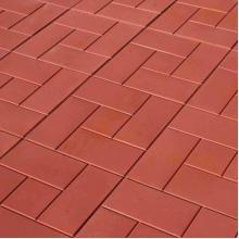 Красная тротуарная плитка
