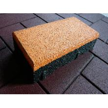 Резиновая тротуарная плитка
